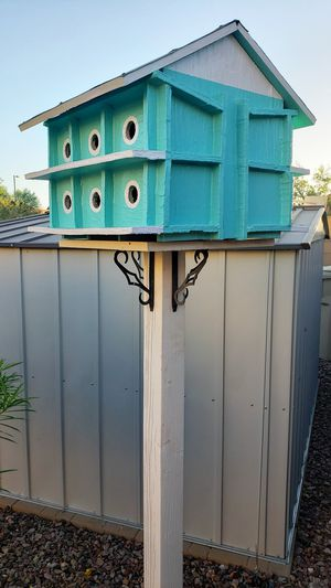 PORTABLE POST AND STAND for Birdhouse Bird feeder Potted Plant Flowers for Sale in Buckeye, AZ