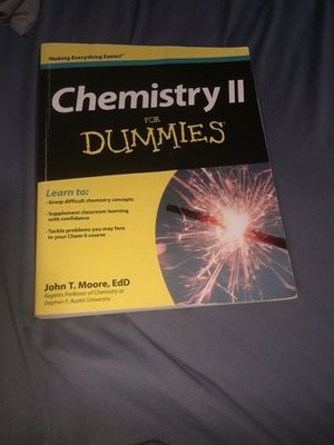 Chemistry II for Dummies for Sale in Fort Myers, FL