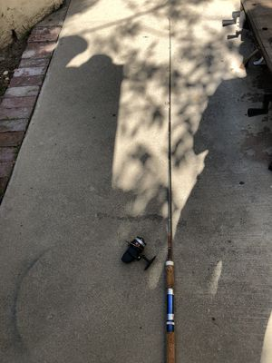 Zebco 6' Fishing Rod-Daiwa Reel for Sale in Pomona, CA