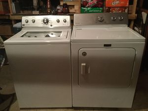 Maytag Electric Washer Washing Machine and Dryer for Sale in Crofton, MD