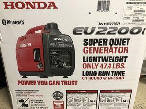 Honda generator eu2200i inverter new in box for Sale in Tacoma, WA