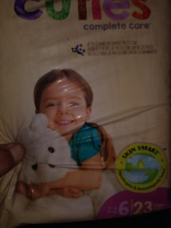 CUTIES,hypo Diapers Size 6 #23 for Sale in Shingle Springs,  CA