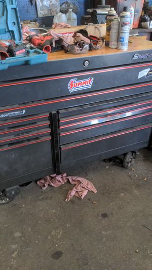 Snap-on toolbox 32,000 cubic inches of storage for Sale in San Diego, CA