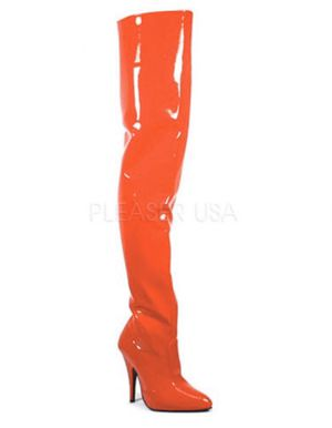 Pleaser Seduce 3000 Red Patent Thigh High Boot for Sale in Kirkland, WA