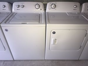 💫AMANA WASHER & DRYER SET 💲400 (FINANCING AVAILABLE)💫 for Sale in Arlington, TX
