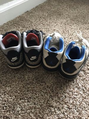 Air Jordan's since 10c for Sale in Brentwood, TN