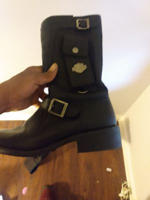 Harley Davidson boots females size 6 or 7 mid condition for Sale in Columbus, OH