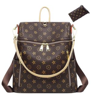 Casual Purse Fashion School Leather Backpack Crossbady Shoulder Bag Mini Backpack for Women & Teenage Girls BLACK for Sale in West Jordan, UT