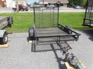 2006 AMERICAN VINTAGE OPEN UTILITY TRAILER 5' X 8' G V W R 2000 LBS. - $759 for Sale in Folsom, PA