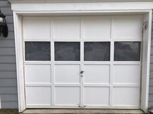 9'x7' wood Garage Door for Sale in Raleigh, NC