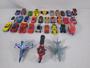 Collection Lot of Various Toy Cars Motorcycle Matchbox Hot Wheels Planes Train for Sale in Cleveland, OH