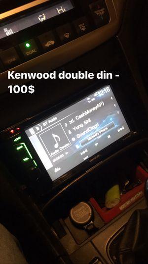 Kenwood double din radio for Sale in Trenton, NJ