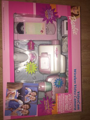 Barbie Wireless Video Camera VideoCam Can be used multiple ways New in sealed box for Sale in Clearwater, FL