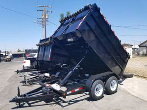 8 x 10 x 4 Dump Trailer with Tarp Kit for Sale in Anaheim, CA
