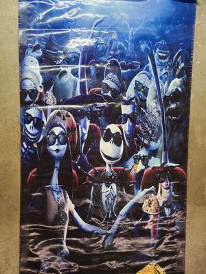 Nightmare before Christmas vinyl poster for Sale in Santee, CA
