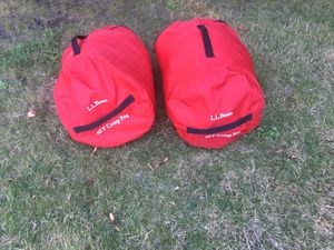 L.L. Bean 40 degree kids sleeping bags (2) for Sale in Issaquah, WA