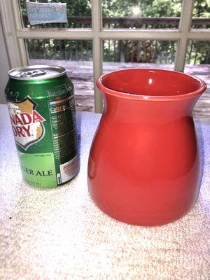 Red Flower Vase for Sale in East Ridge, TN