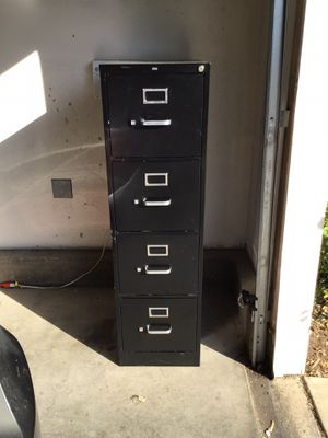 $50 Filing cabinet with lock (key NOT included) for Sale in Palmdale, CA