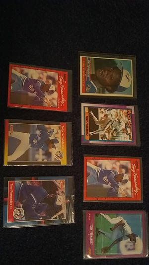 TONY FERNANDEZ BASEBALL CARDS for Sale in Cleveland, OH