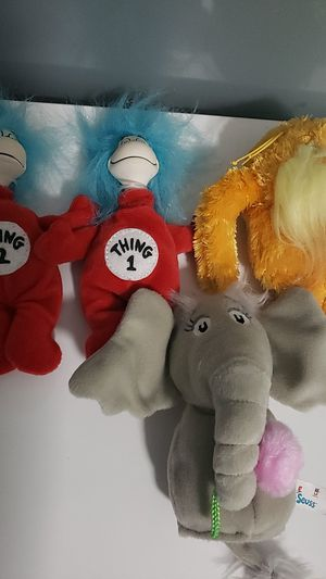 Dr. Seuss plushies for Sale in Miami, FL