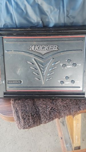 Kicker amp for Sale in Kaneohe, HI