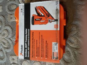 Paslode CF325XP Lithium-Ion 30 -Degree Cordless Framing Nailer for Sale in Sacramento, CA