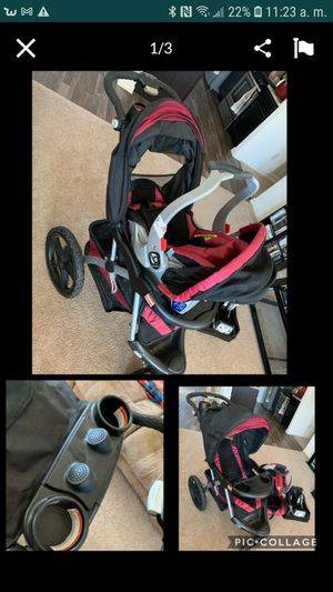 Carseat and troller for Sale in Buckeye, AZ