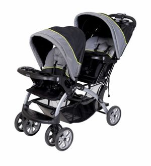 Baby Trend Sit n Stand Double Stroller Pistachio for Sale in Los Angeles, CA