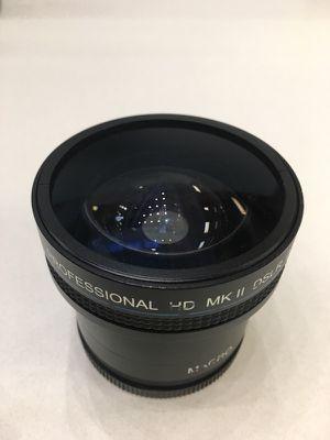 Professional HD MK II DSLR .0 18 X lens fisheye for Sale in Cleveland, OH