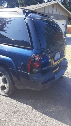 Chevy trailblazer for parts would like for all of the vehicle to go but willing to let you take specific parts only missing engine for Sale in Marysville, WA
