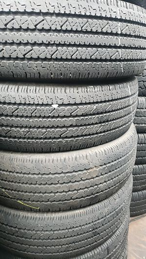 L.t245 75 16 bristone tires muy buenas condiciones for Sale in Lakewood, CA