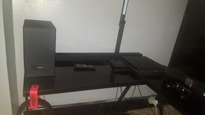 Streaming desk and streaming light and ps4 streaming camera for Sale in Cambridge, OH