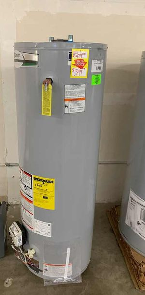 40 gallon AO Smith water heater with warranty JTB for Sale in Dallas, TX