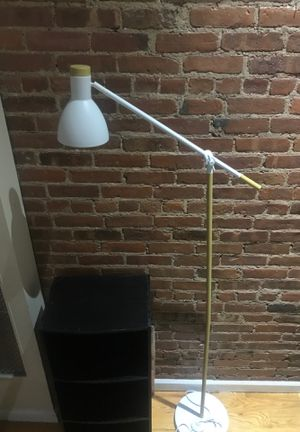 White floor lamp for Sale in New York, NY