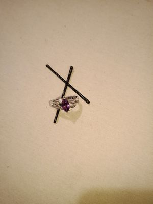 Silver Amethyst Ring for Sale in Sheridan, CO