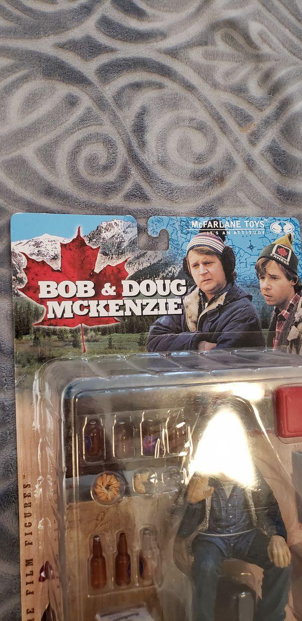 Strange Brew, Bob & Doug Mackenzie with Strange brew set