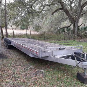 34 Feet Flat B Aluminum Trailer for Sale in Wesley Chapel, FL