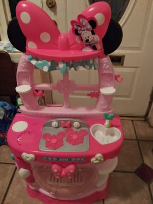 Minnie mouse play kitchen for Sale in St. Petersburg, FL