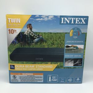 Outdoor Camping Air Mattress 10'in. 3 left! Intex for Sale in West Covina, CA