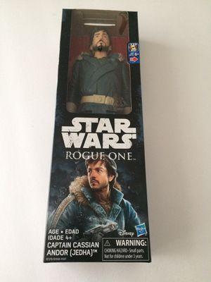 "Captain Cassian Andir 12"" collectors doll for Sale in Fresno, CA"