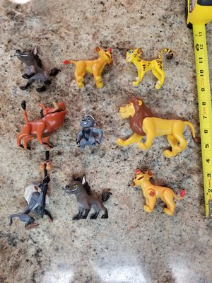 Lot of Rare Lion King action figures for Sale in Guadalupe, AZ