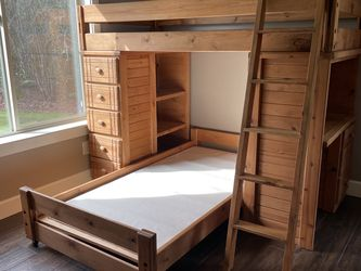 Wood Bunk Bed for Sale in Vancouver,  WA