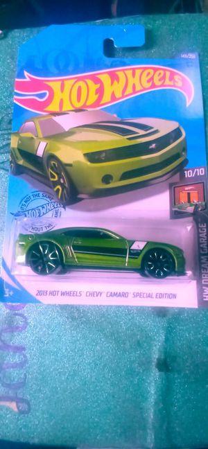 HOTWHEELS~TREASURE HUNT!!! 2013CHEVY CAMERO~ERROR CAR! MESSUP ON PAINTJOB! RARE~ RARE~ RARE! for Sale in Portland, OR
