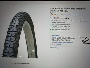 Kenda 700 x 35c bicycle tires. Looks like Rain V-Cut Wire Bead Bicycle tires for Sale in San Diego, CA