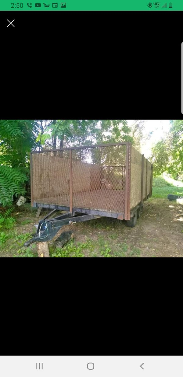 16 ×8 trailer heavy duty