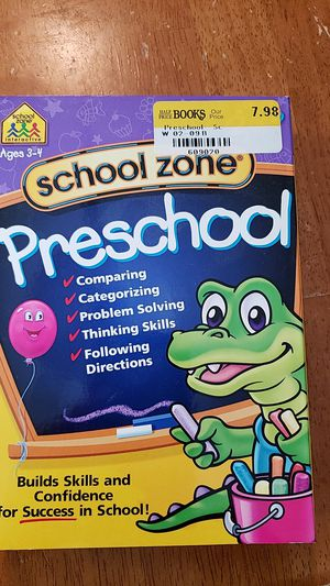 School Zone Preschool computer program, 2 CD set, never opened for Sale in Pittsburgh, PA