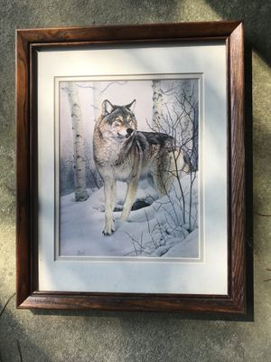 Wolves frames ones a puzzle for Sale in Suffolk, VA