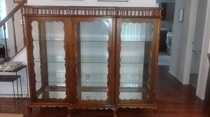 Vintage Display Cabinet Handmade in Brazil for Sale in Rockville, MD