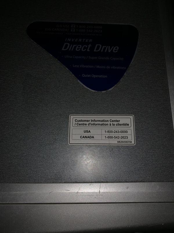 LG Washer/Dryer Combo