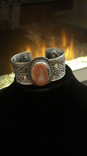 One of a kind 925 stamped cuff for Sale in Riverview, FL